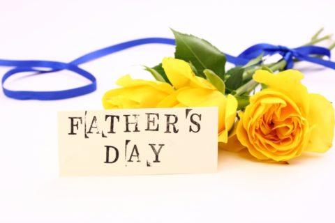 父の日に花を贈るのはどう?2018年はいつ?人気のプレゼントとは?
