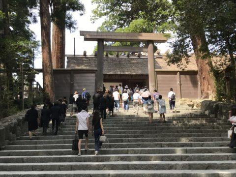 伊勢神宮の参拝方法と初詣の混雑状況